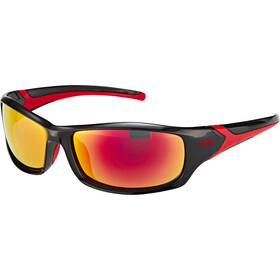 UVEX sportstyle 211 Sportglasses, black red